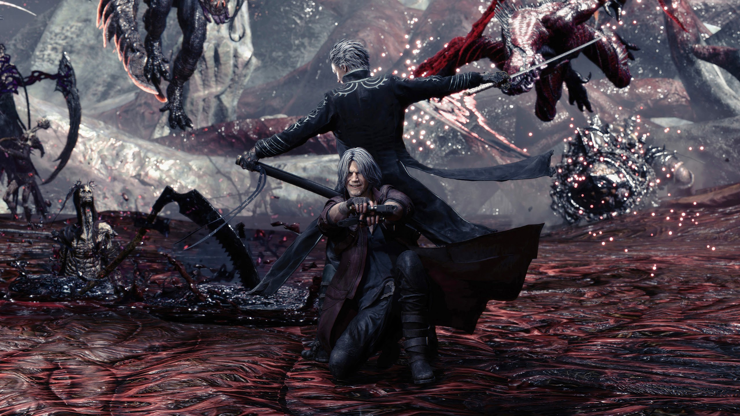 Devil May Cry 5 Dante And Vergil 4k Wallpaper 194