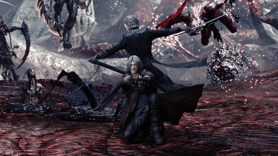Devil May Cry 5 Dante And Vergil 4k Wallpaper 194