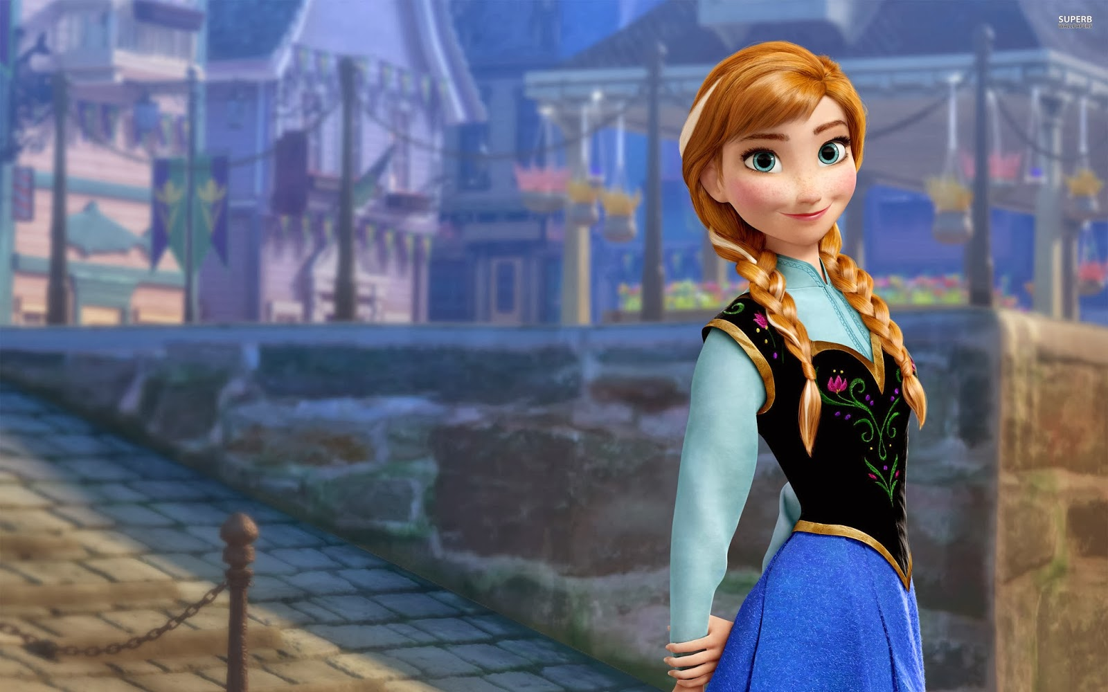 group of anna in frozen hd