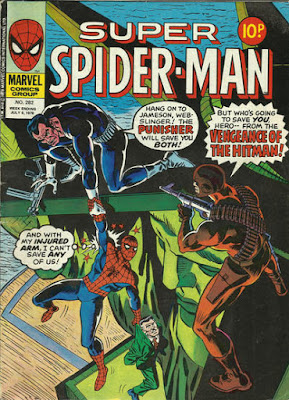 Super Spider-Man #292, the Punisher and the Hitman