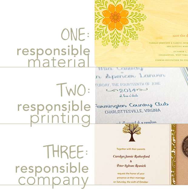 Wedding Invitations Eco Friendly: {Guest Post From Eco And Elsie} A Guide To Eco-Friendly