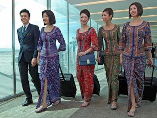 Model Busana Batik Untuk Kerja Seragam Modern