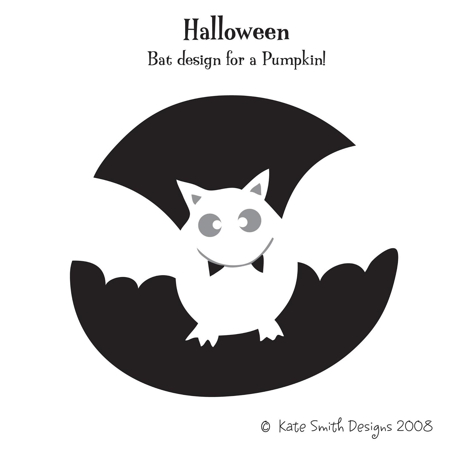 free printable bat pumpkin carving patterns design templates
