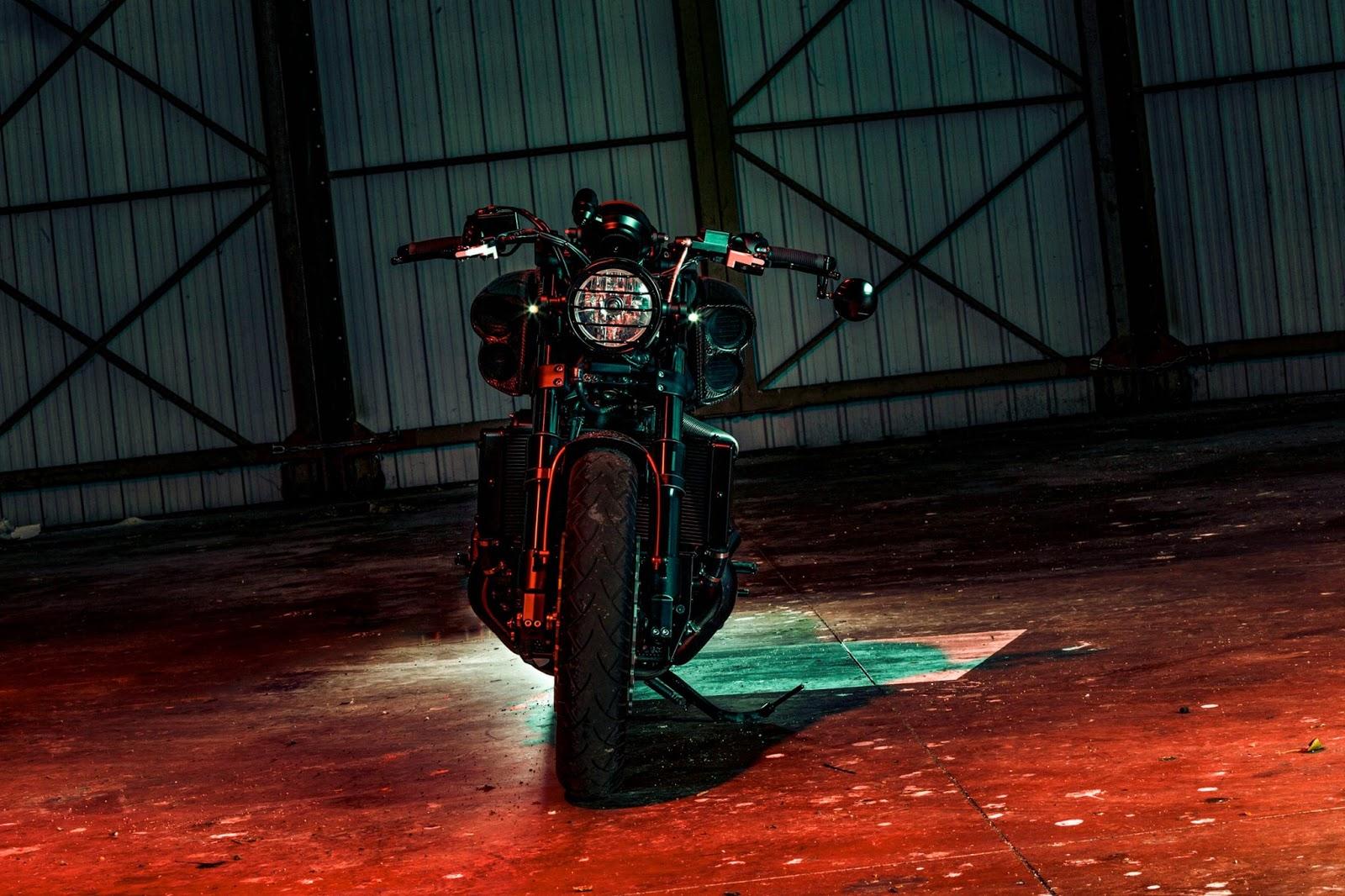 V Max 1700 Fast Ruby Rocketgarage Cafe Racer Magazine
