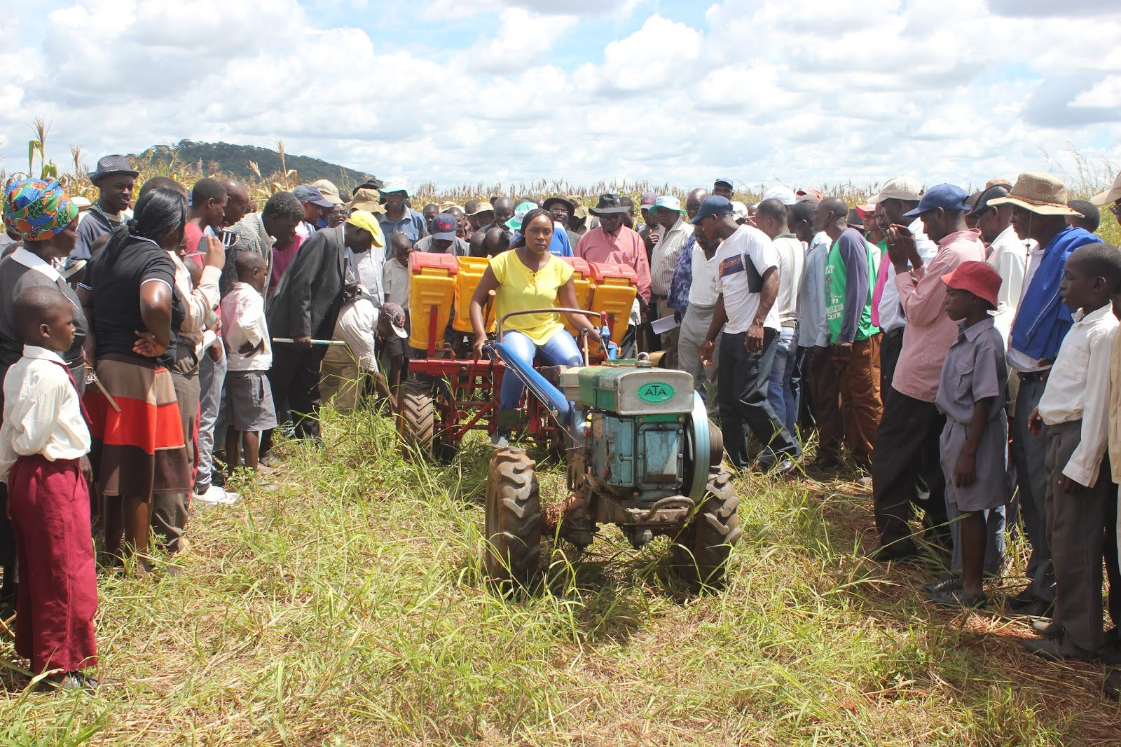 Aciar Mechanisation On A Small Scale Brings Results In