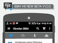 BBM V8 New Beta V2.12.0.9 Apk Terbaru