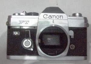 Canon FT QL tampak depan