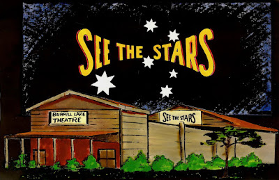 "MOVIES! MOVIES! MOVIES! PART 3 1985 - 1990 BURRILL LAKE OPEN AIR THEATRE MOVIE GUIDES ""SEE THE STARS"""