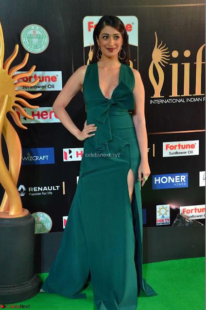Raai Laxmi in Deep Neck Sleeveless Green Leg Split Gown at IIFA Utsavam Awards 2017  Day 2    HD Exclusive Pics 01.JPG