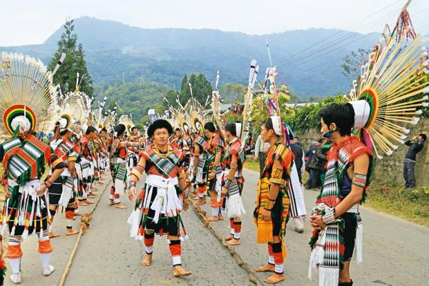 Nagaland It's Location, People and Culture   North East