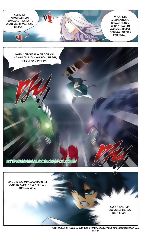 Battle Through the Heavens Chapter 31-43