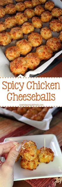 Spicy Chicken CheeseBall