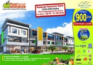 Mandra P. Shakti Dan Pasar Bersih Karawang , Pasar Bersih Karawang