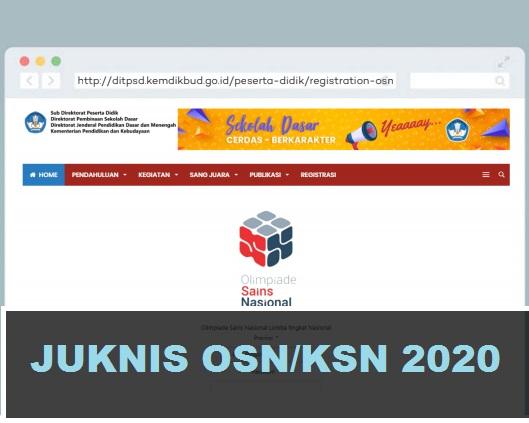 GAMBAR JUKNIS KSN OSN 2020