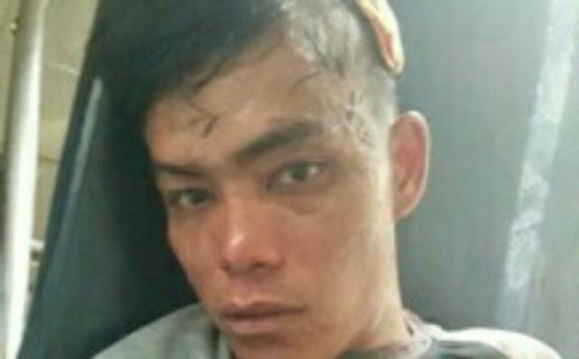 Roy tersangka pencuri sepedamotor di Batubara.