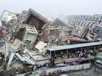 Gempa berkekuatan 6,4 skala richter mengguncang Taiwan