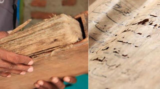 Al Quran Berumur 5 Abad Ini Tetap Utuh Meski Rumah Sang Pemilik Terbakar Habis