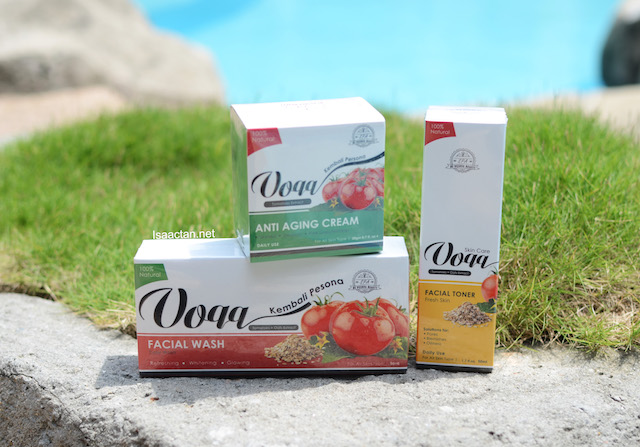 Voqq - Beauty Skin Care Made From Tomato Extracts