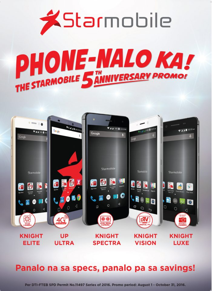 Starmobile Phone Nalo Ka 5th Anniversary Promo