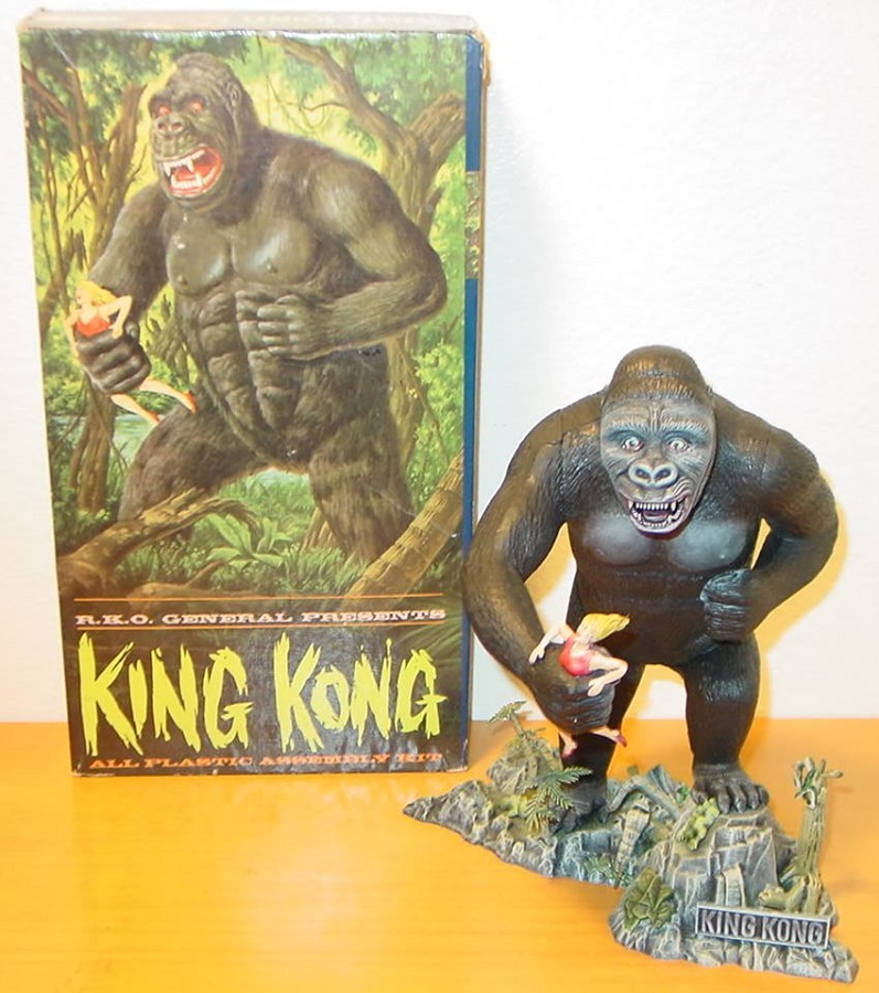 King Kong Ape Porn - I saved up for a special edition King Kong Gold Key Giant Classic comic  book (it cost 25 cents then, a surviving copy in mint condition is  apparently worth ...