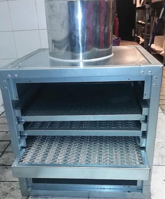 imagen caja de filtros salida  humos bar restaurante en madrid