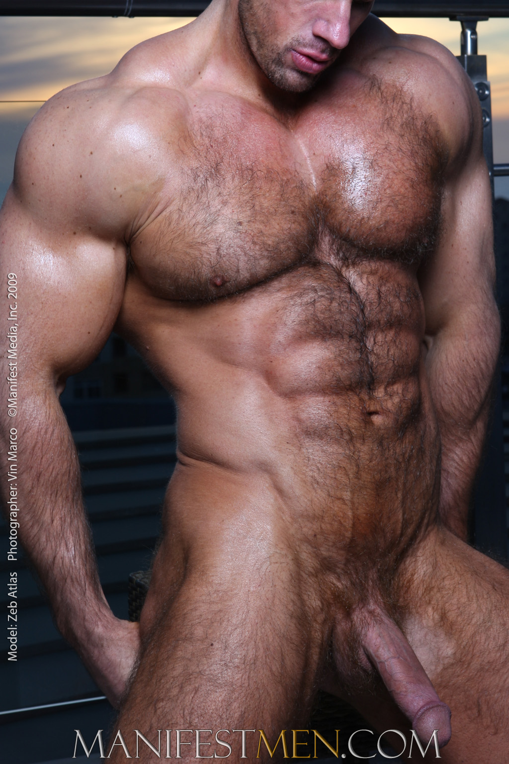 Hot Naked Men Zeb Atlas-4329