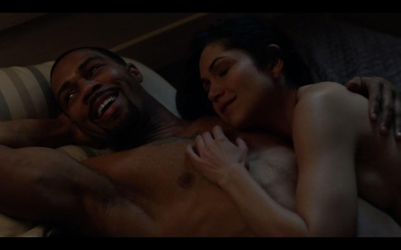 Eviltwins Male Film  Tv Screencaps 2 Power 1X05 - Omari -9905