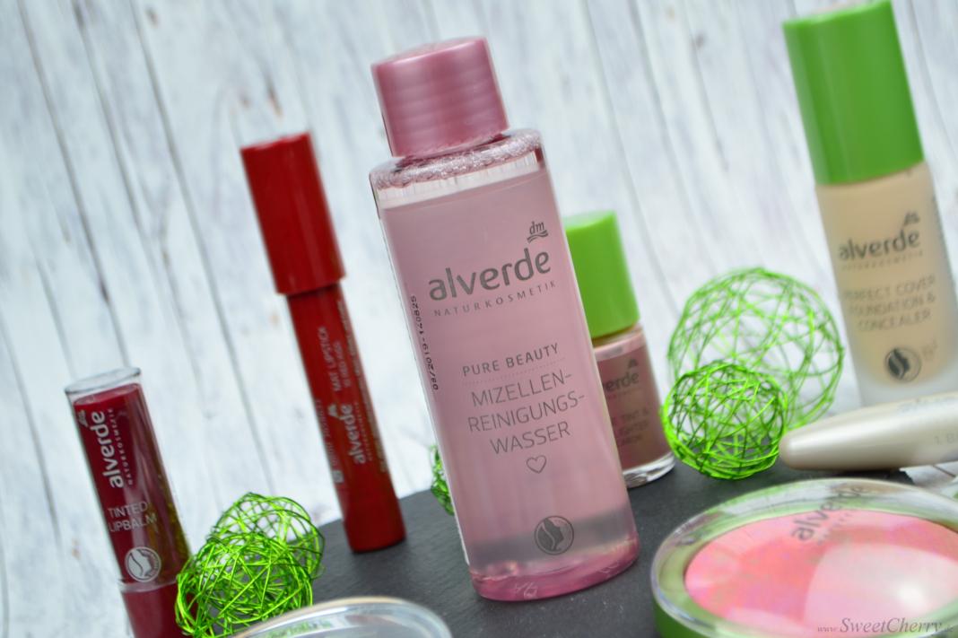 Alverde Sortiment 2017 - Pure Beauty Mizellen Reinigungswasser