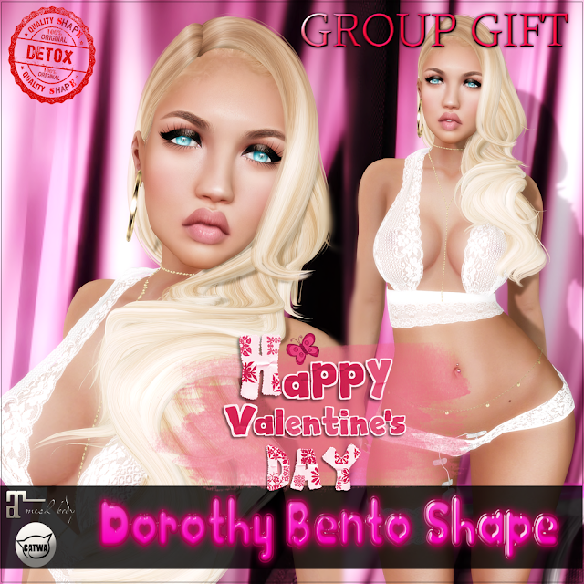 # 840 ♥Valentine's Day GROUP GIFT Shape♥