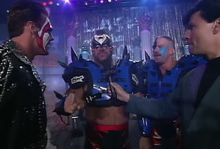 WCW Clash of the Champions XXXI - The Road Warriors confront Sting and Lex Luger