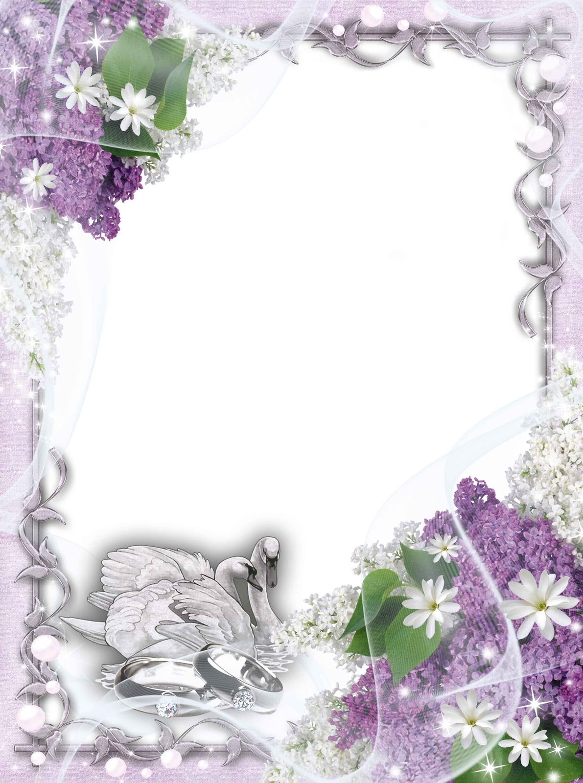 Рамки для открытки свадьбы, счастье