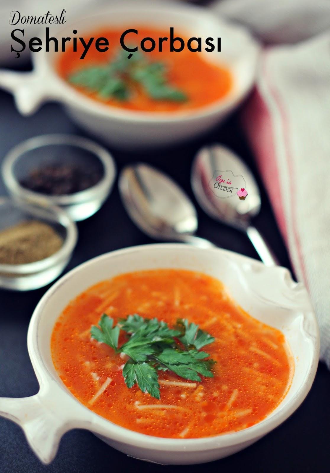 Domatesli şehriye çorbası tarifi