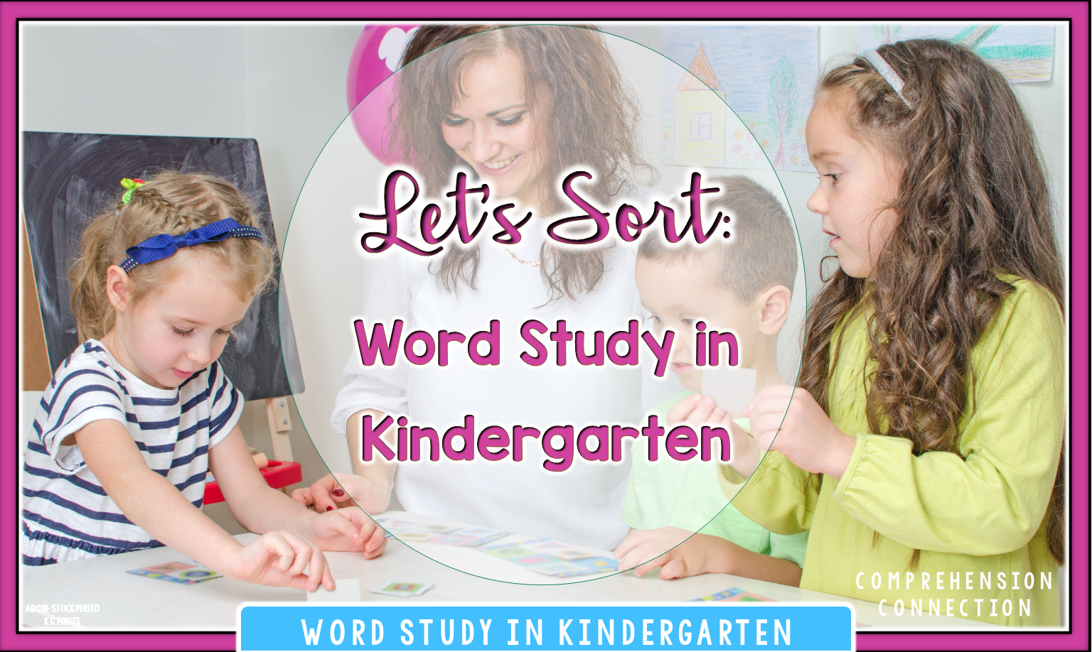 Word study in kindergarten? Absolutely! Check out this post to learn what it looks like in this post.