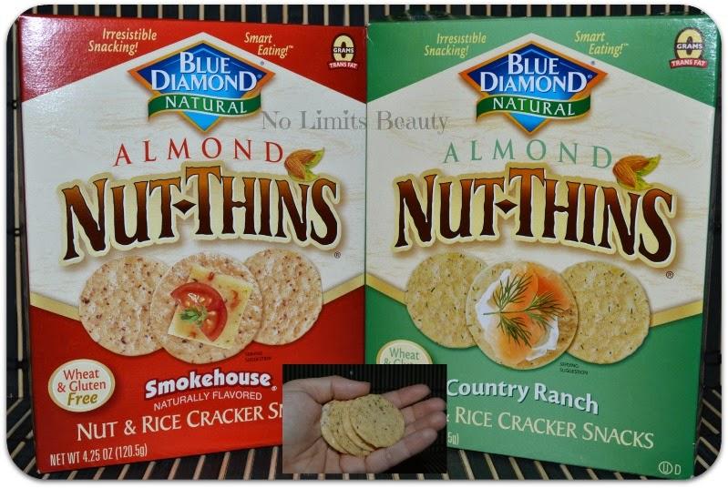iHerb - Blue Diamond, Almond Nut-Thins, Nut & Rice Cracker Snacks - (Country Ranch & Smokehouse)