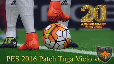 Tuga Vicio Patch V0.1 For PES 2016