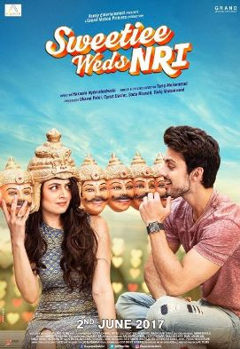 Sweetiee Weds NRI new upcoming movie first look, Poster of Himansh Kohli, Zoya Afroz download first look Poster, release date