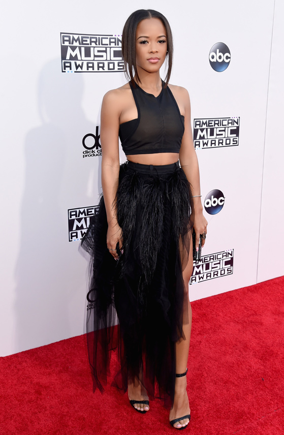 Serayah McNeill at AMA's 2015