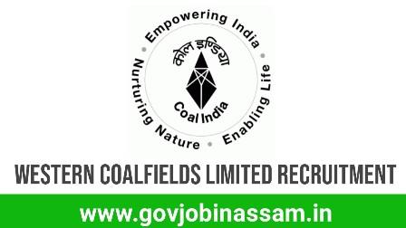 Western Coalfields Limited Recruitment 2018, govjobinassam,assam career