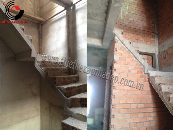 Thi công xây dựng nhà ống 2 tầng 5x15  chị Thủy ở Sóc Trăng Thi-cong-nha-pho