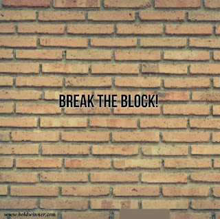 Break the block