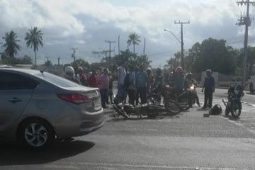 Policial fica ferido e suspeito de assalto termina morto na BR-116 Norte