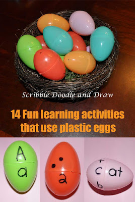 14 fun learning activities that use plastic eggs