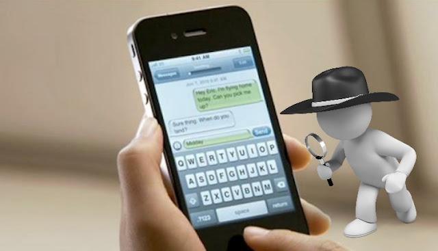 Cara Menyadap HP SMS, Telepon, WA Dan BBM