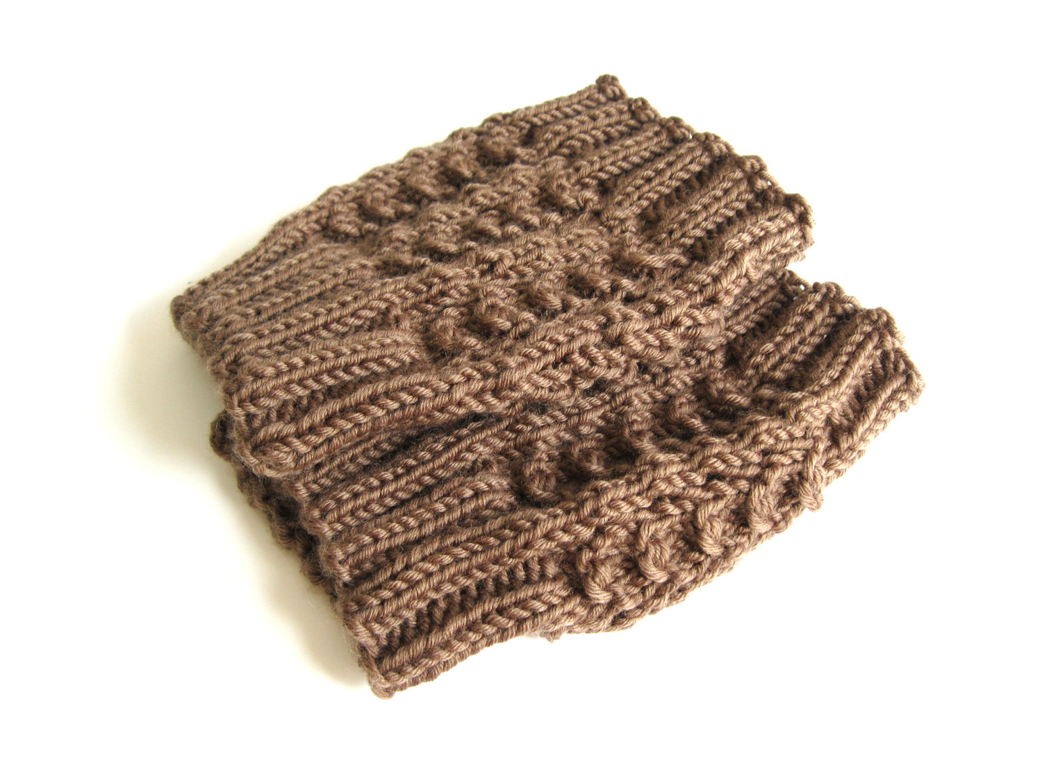Funky Fresh Fraziers Knitted Boot Cuff Pattern