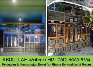 perhitungan depot air mineral
