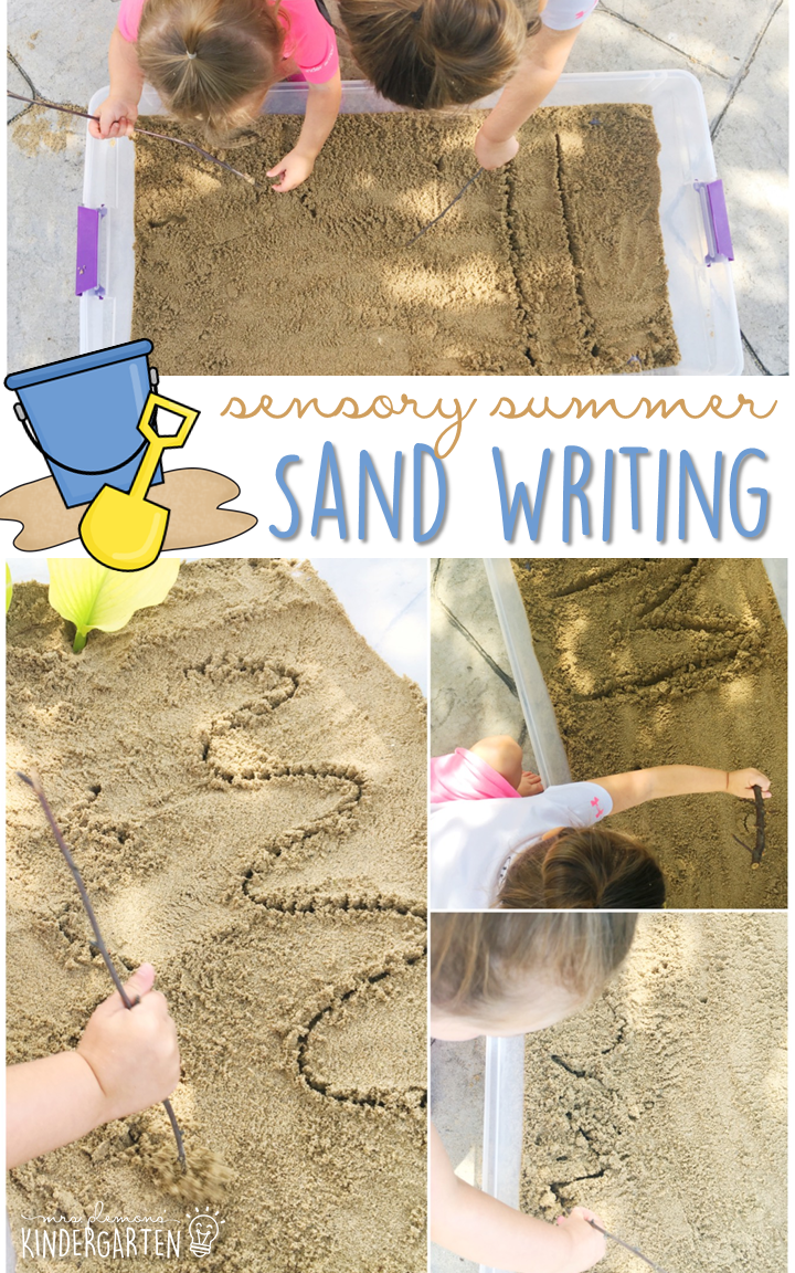 10 Ways to Play with Sand {Sensory Summer} - Mrs  Plemons