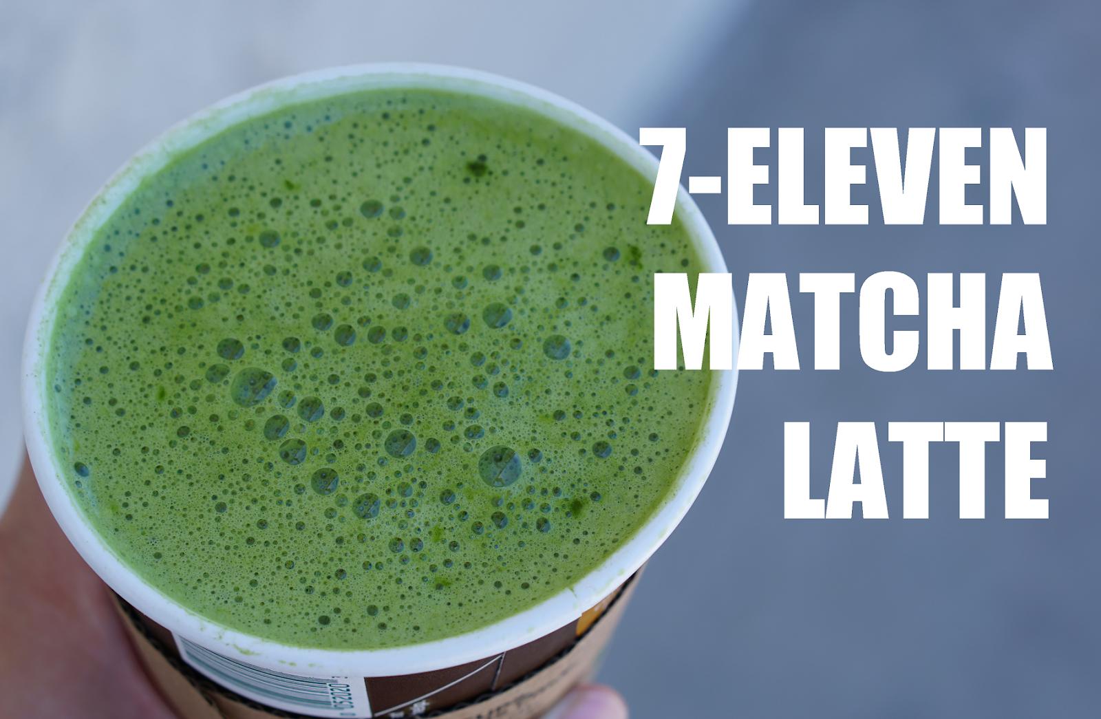 7-Eleven In California Now Serves Matcha Green Tea Lattes?!