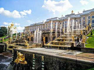 Russie Palais de Peterhof