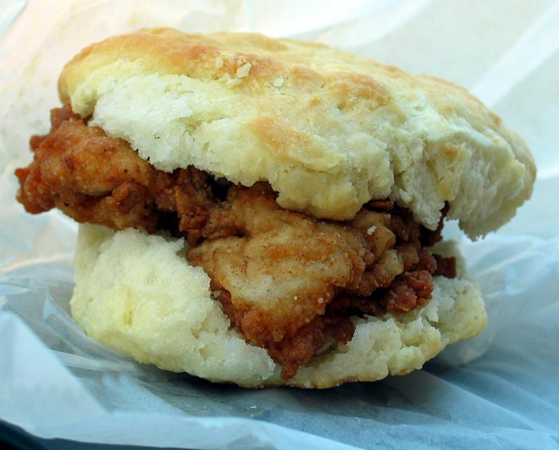 Breakfast Challenge Sunrise Biscuit Kitchen Fried Chicken