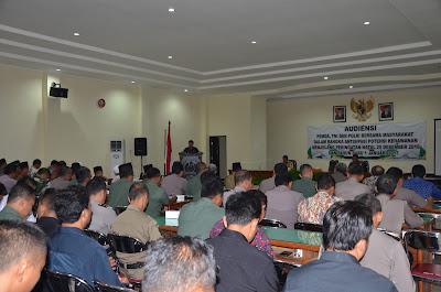 Pemkab Trenggalek bersama TNI Polri Gelar Koordinasi Jelang Natal dan Tahun Baru